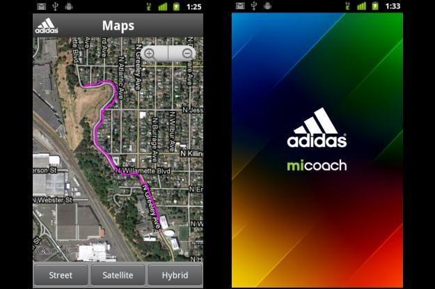 miCoach - trener w wersji mobilnej /materiały prasowe