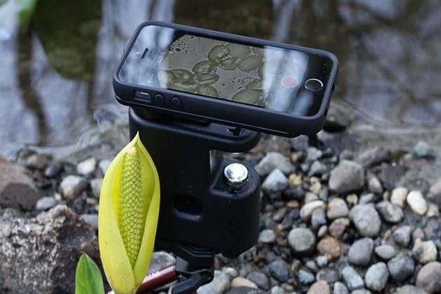 MicrobeScope - smartfonowy mikroskop /materiały prasowe
