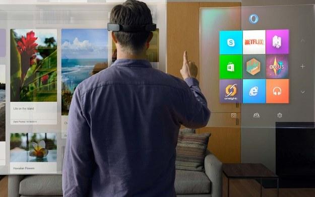 Microsoft HoloLens /materiały prasowe