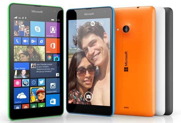 Microsoft Lumia 535 /materiały prasowe