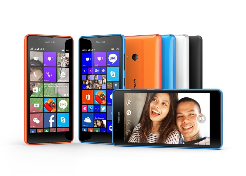 Microsoft Lumia 540 Dual SIM /materiały prasowe