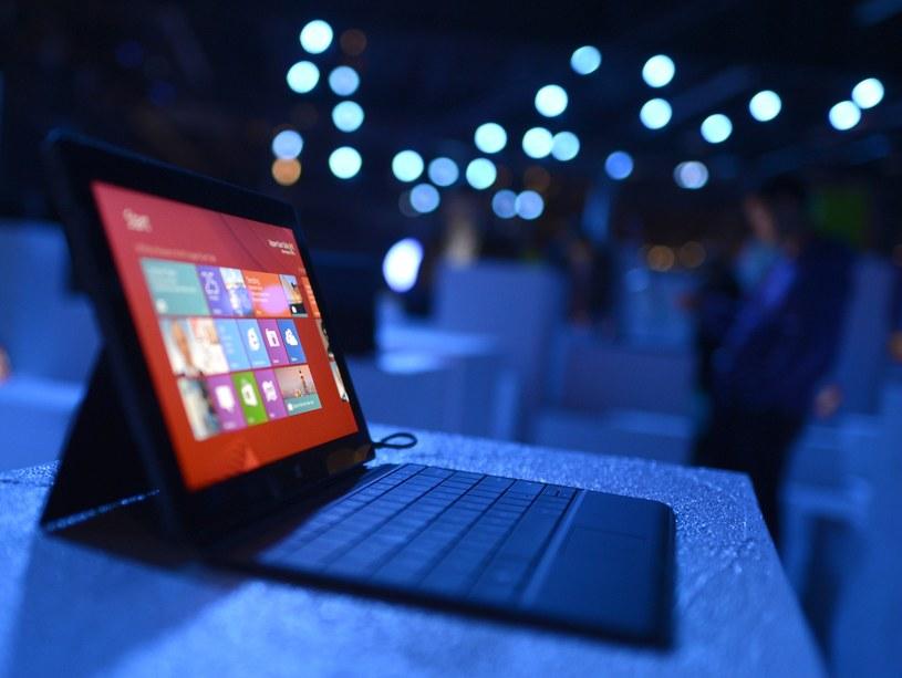 Microsoft nie odniósł w segmencie tabletów spektakularnego sukcesu... /AFP