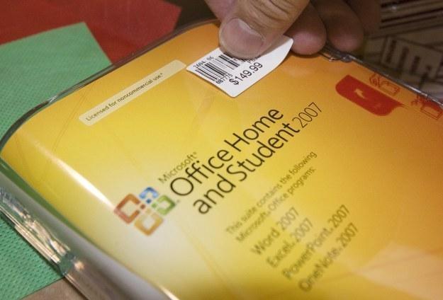 Microsoft Office staje się coraz bezpieczniejszy /AFP