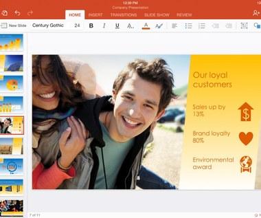 Microsoft udostępnia mobilny Office za darmo