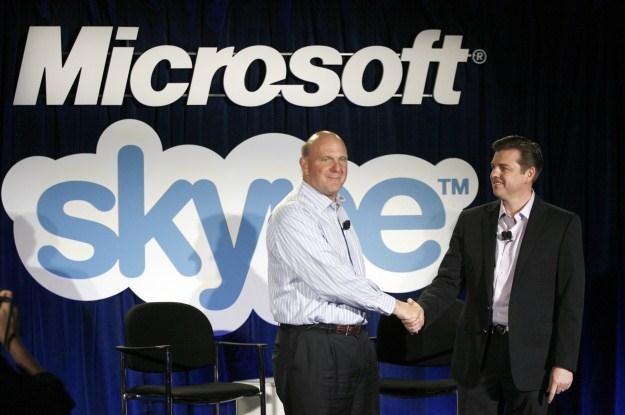 Microsoft wreszcie zamierza wykorzystać Skype poza pecetową platformą /AFP