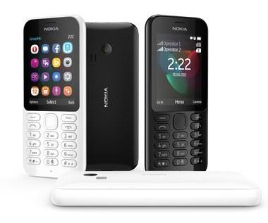 Microsoft zapowiada telefon Nokia 222 Dual SIM
