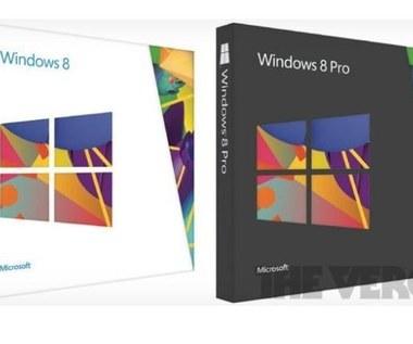 Microsoft zaprezentował pudełka  z Windows 8