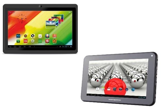 MID 712 Tablet 7'' DUO POWER oraz MODECOM FreeTab 2096+ HD X2 /materiały prasowe