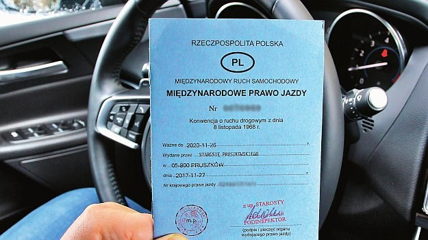 międzynarodowe prawo jazdy /Motor