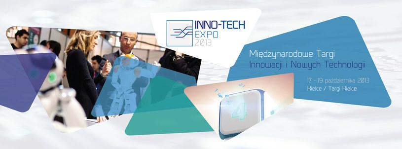 Międzynarodowe Targi Innowacji i Nowych Technologii  odbędą się w Kielcach w dniach 17-19 października 2013 /materiały prasowe