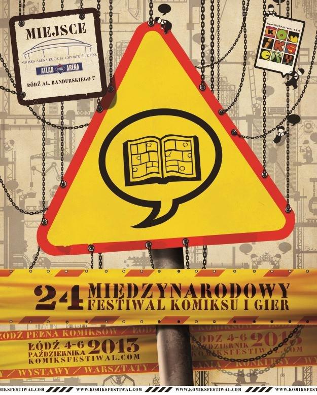 Międzynarodowy Festiwal Komiksu i Gier w Łodzi /materiały prasowe