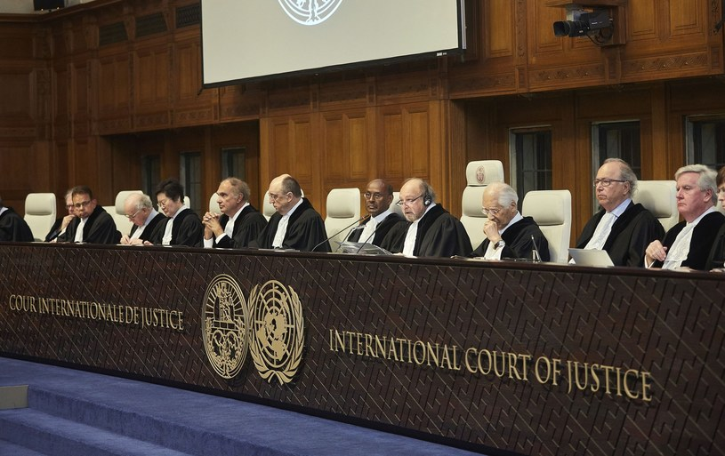Międzynarodowy Trybunał Sprawiedliwości w Hadze /HOLLANDSE HOOGTE /East News