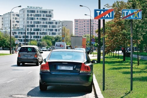 Miejsce dla taksówek /Motor