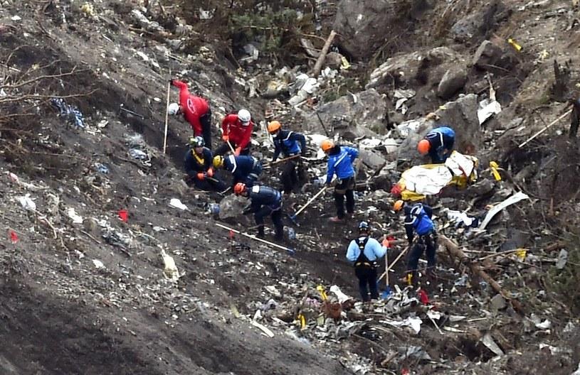 Miejsce katastrofy airbusa /AFP