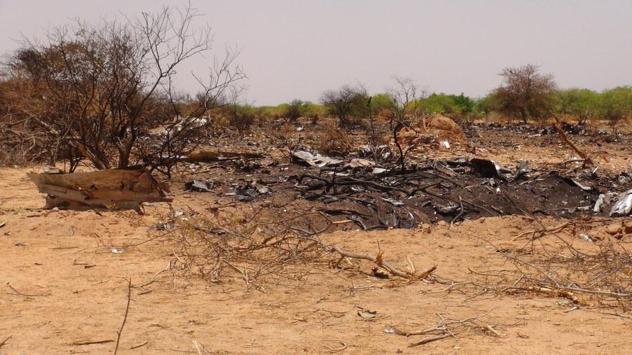 Miejsce katastrofy samolotu /STR /PAP/EPA