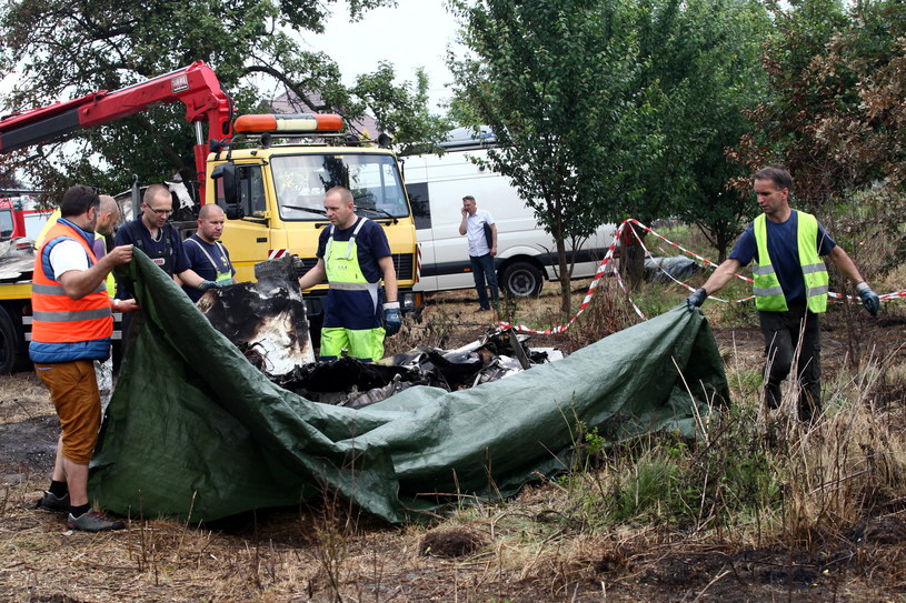 Miejsce katastrofy /Waldemar Deska /PAP