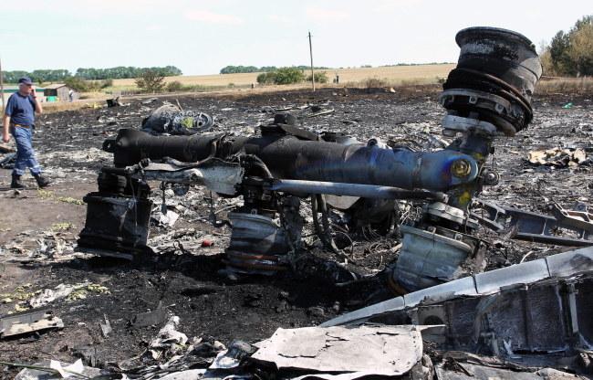 Miejsce katastrofy /IGOR KOVALENKO /PAP/EPA