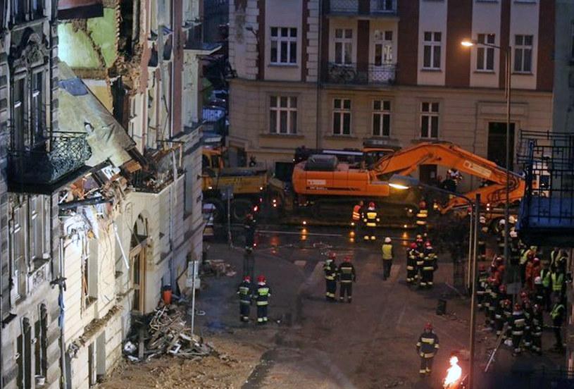 Miejsce katastrofy /Andrzej Grygiel /PAP