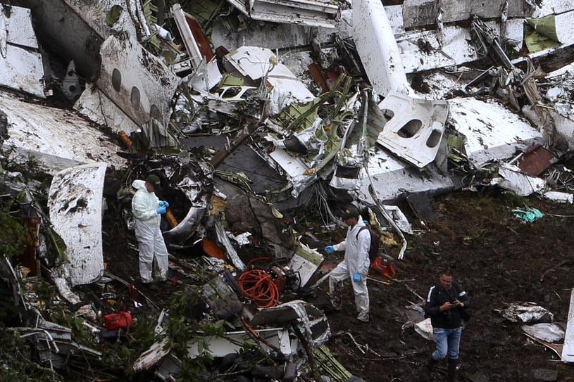 Miejsce katastrofy /PAP/EPA