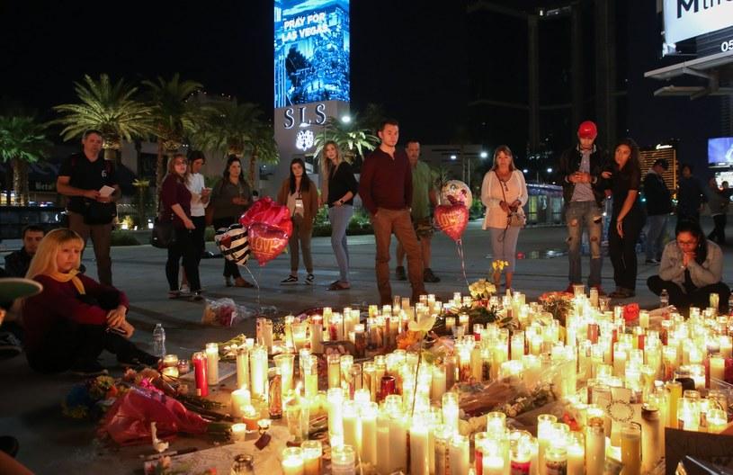 Miejsce masakry w Las Vegas /EUGENE GARCIA /PAP