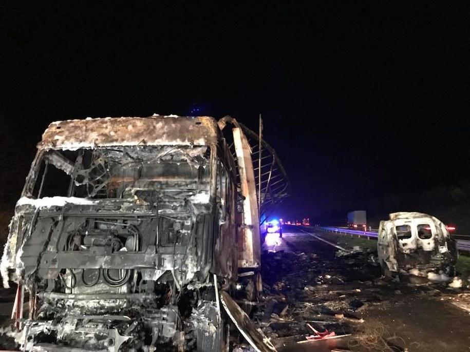 Miejsce tragedii /Pomoc Drogowa Wal-Car Ratownictwo Drogowe /Facebook