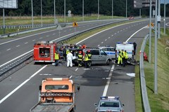 Miejsce tragicznego wypadku na S3