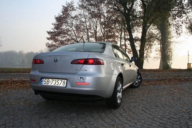 Miejsce trzecie: Alfa Romeo 159 / kliknij /INTERIA.PL