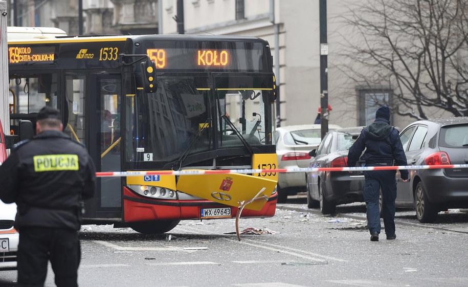 Miejsce wybuchu gazu to kamienica przy ul. Noakowskiego w Warszawie /Radek Pietruszka /PAP