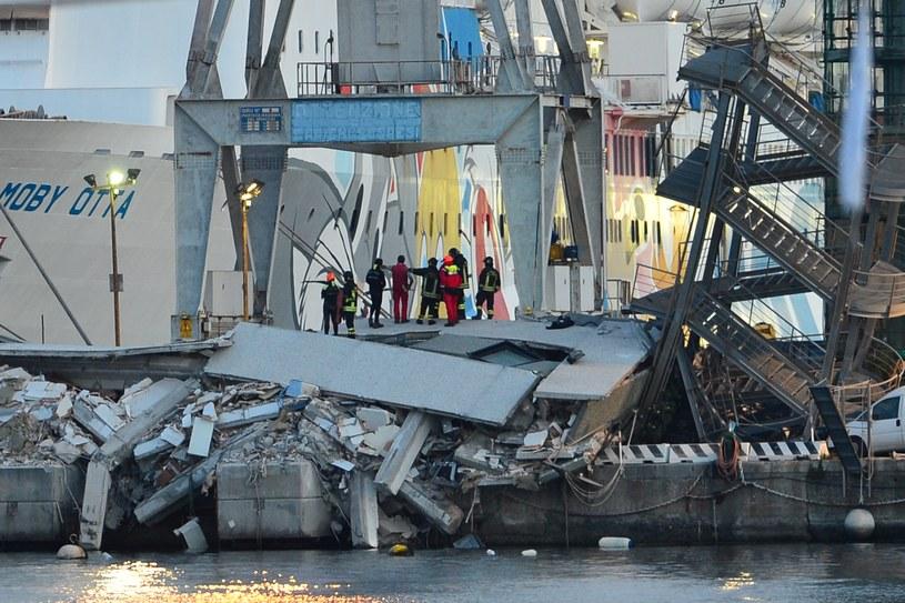 Miejsce wypadku /GIUSEPPE CACACE /AFP