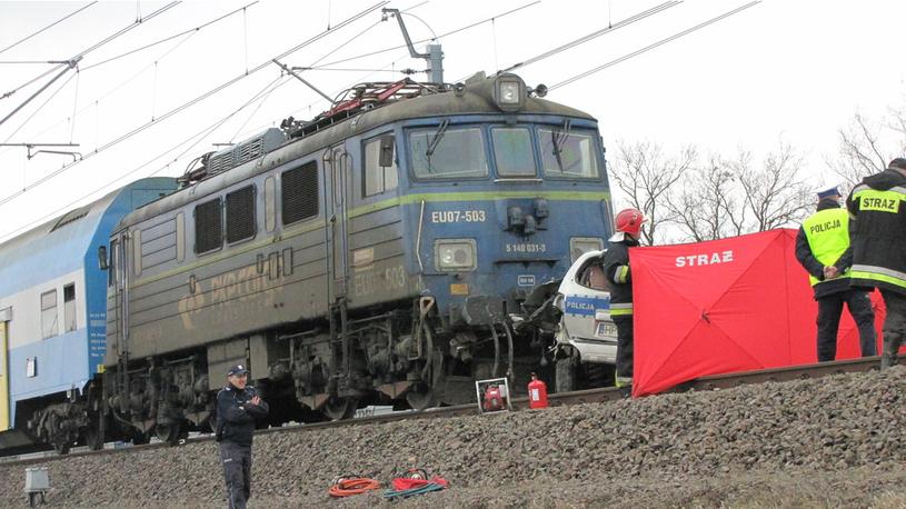 Miejsce wypadku /Bartłomiej Paulus /RMF