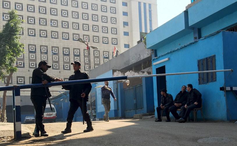 Miejsce zdarzenia jest badane przez policję /Amr Abdallah Dalsh /Reporter