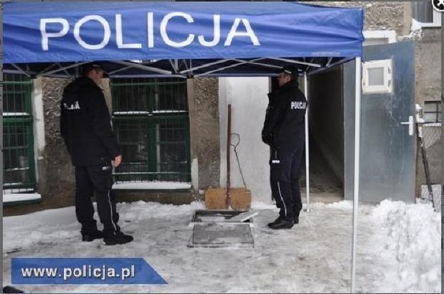 Miejsce znalezienia ciała /Policja