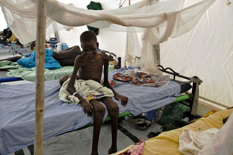 Mieszkańcom grozi klęska głodu /AFP