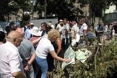 Mieszkańcy Łodzi nie chcą apartamentowca zamiast zieleni