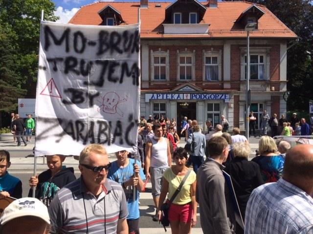 Mieszkańcy miasta zapowiadaja kolejne protestu /Bartek Paulus, RMF FM /RMF FM