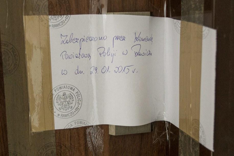 Mieszkanie, w którym znaleziono płody /Maciej Kulczyński /PAP