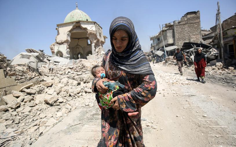 Mieszkanka Mosulu /AHMAD AL-RUBAYE /AFP