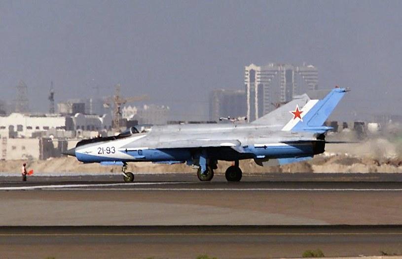 MiG-21 był jednym z najbardziej udanych radzieckich myśliwców w latach zimnej wojny. /AFP