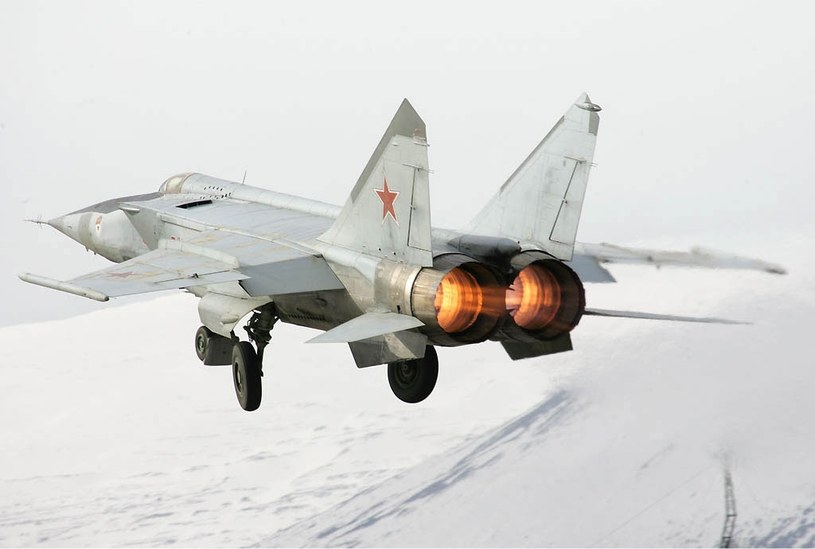 MiG-25 pobił łącznie 25 różnych rekordów - m.in. szybkości, pułapu lotu i prędkości wznoszenia. Fot. Dmitrij Pichugin /Wikipedia