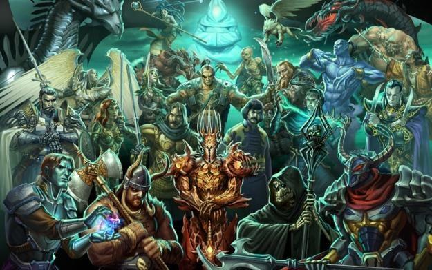 Might & Magic: Heroes VI - motyw graficzny /Informacja prasowa