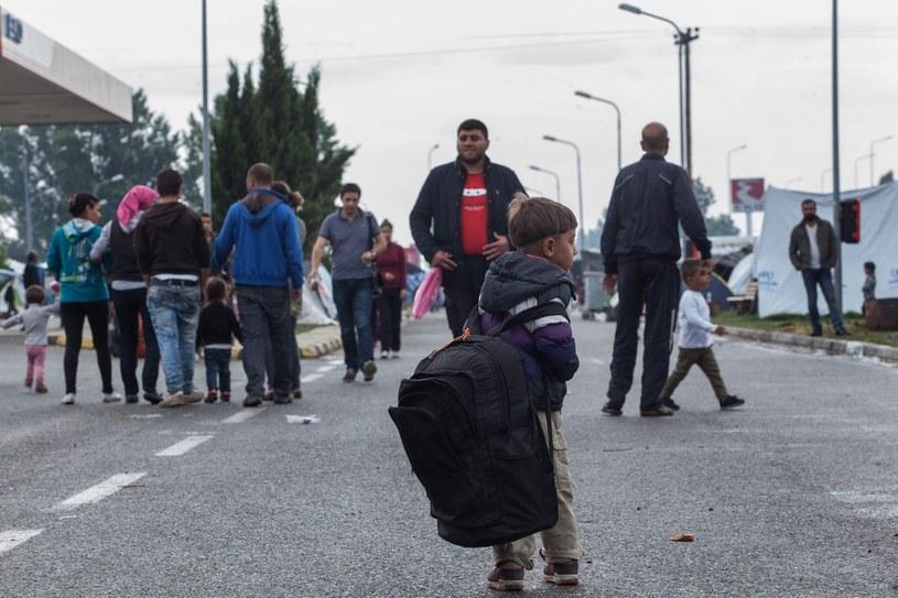 Migranci w Grecji, zdj. ilustracyjne /NIKOS ARVANITIDIS /PAP/EPA