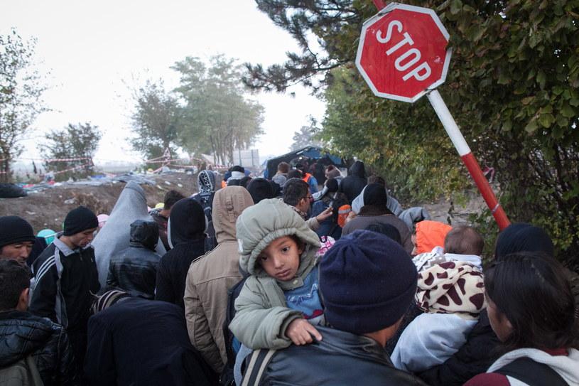 Migranci, zdj. ilustracyjne /Jacek Szydlowski /Agencja FORUM