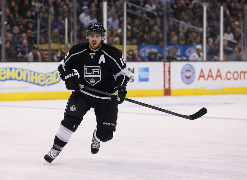 Mike Richards z Los Angeles Kings /Jeff Gross /Getty Images