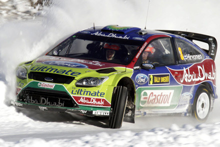 Mikko Hirvonen (Ford Focus) /AFP