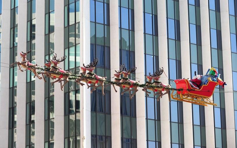 Mikołaj tym razem może nie zdążyć... /AFP