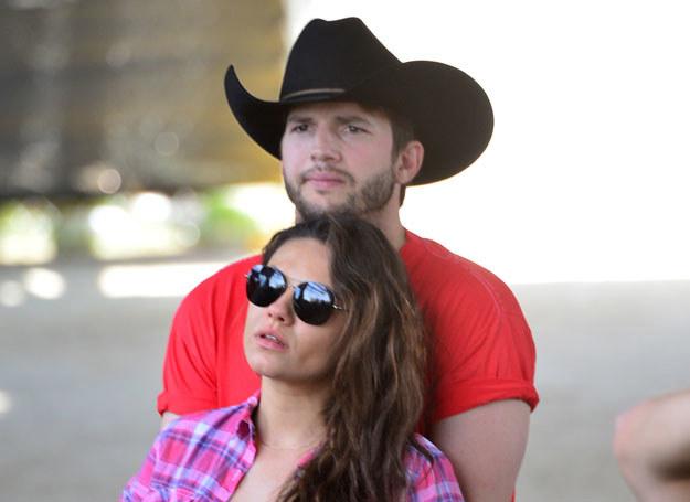 Mila Kunis i Ashton Kutcher dwa miesiące temu zostali rodzicami /Getty Images