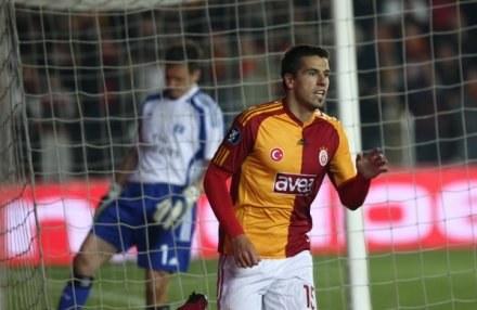 Milan Barosz zdobył gola na 3:0 dla Galatasaray. /AFP