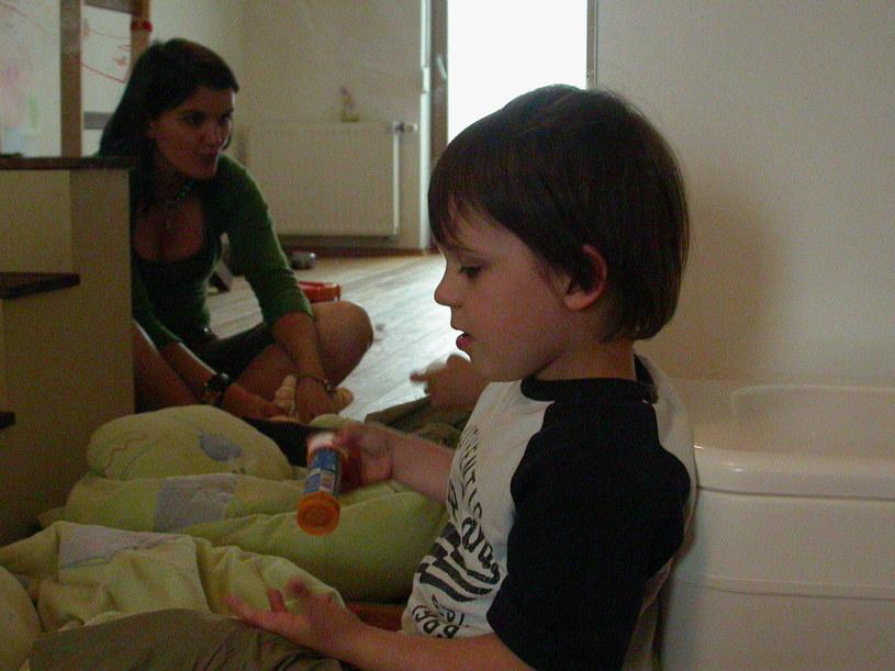 Milan i Natalia. Zdjęcie z archiwum rodzinnego