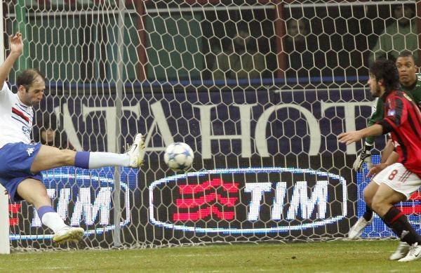 Milan nie zdołał pokonać Sampdorii /AFP