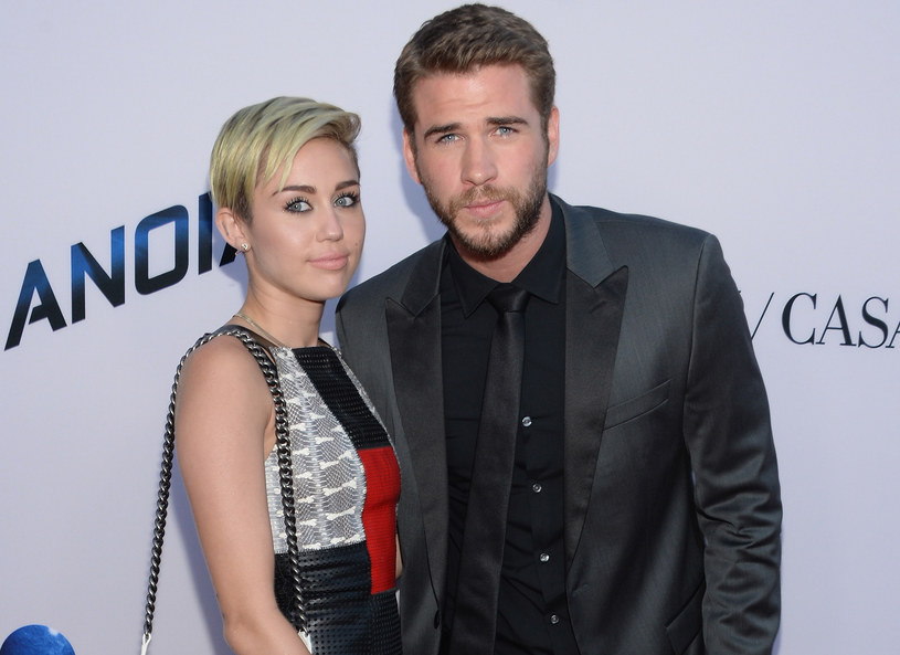Miley Cyrus i Liam Hemsworth /Getty Images